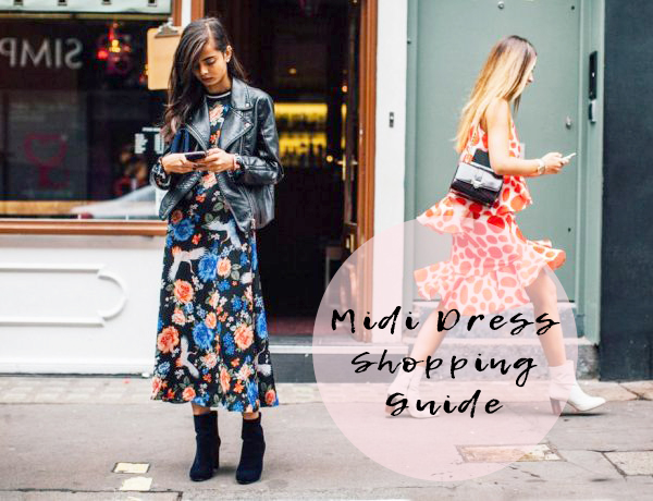 Midi Dress Shopping Guide